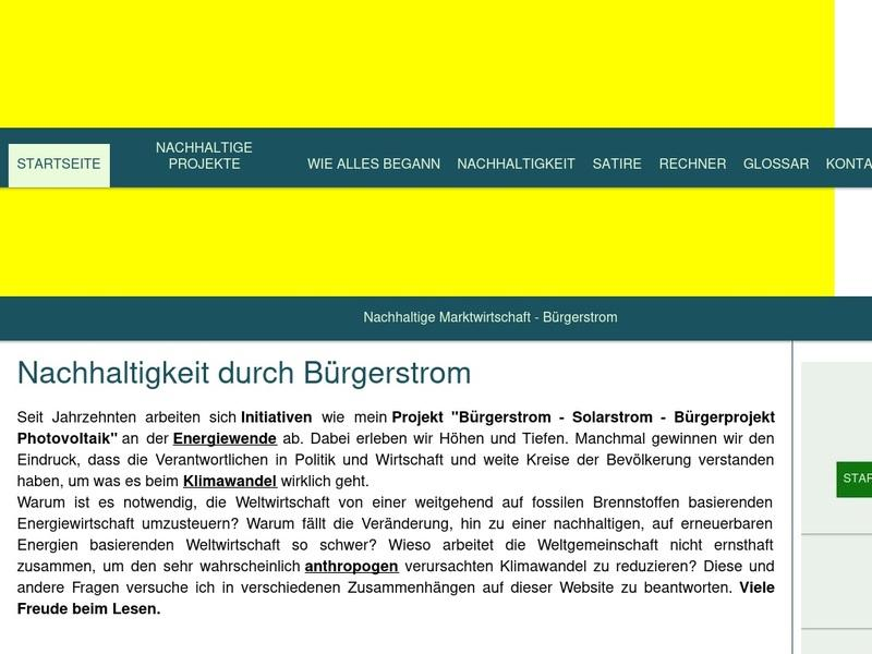 Screenshot von https://www.buergerstrom.info/